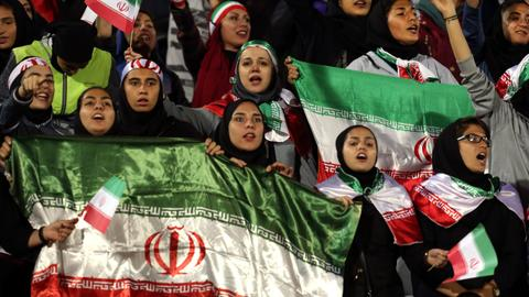 FIFA boss hopeful Iran will lift stadium ban on women football fans