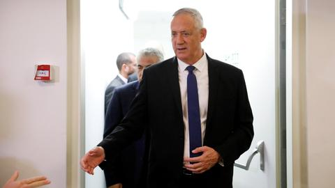 Gantz says he should be PM in Israel unity government