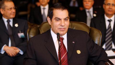 Tunisia's ousted autocrat Ben Ali dies in exile