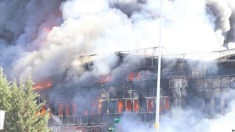 PKK-affiliate claims responsibility for chemical factory fire in Istanbul