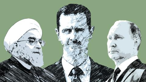 How Assad balances competing interests of Russia and Iran in Syria