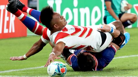 Host Japan beat Russia 30-10 in Rugby World Cup opener