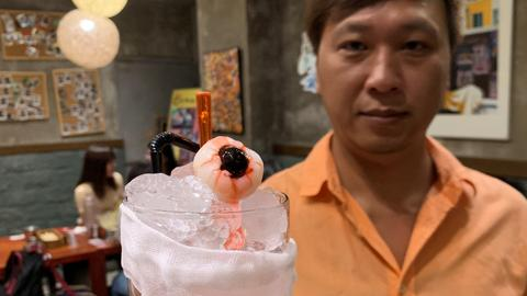 Hong Kong diner offers protest-inspired 'eyeball' mocktail, 'tear gas' eggs