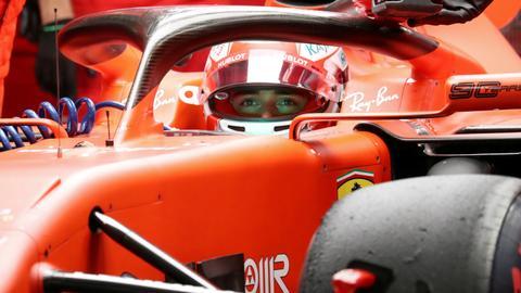 Ferrari's Leclerc takes 3rd straight pole at Singapore GP