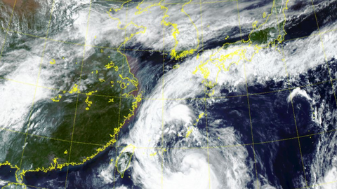Powerful typhoon causes damage in South Korea