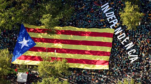 Spanish police arrest nine Catalan activists, seize substances