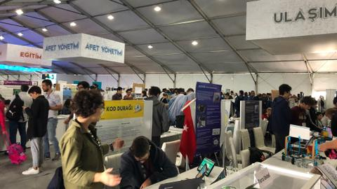 Future technology leaders of Turkey showcase their work at Teknofest