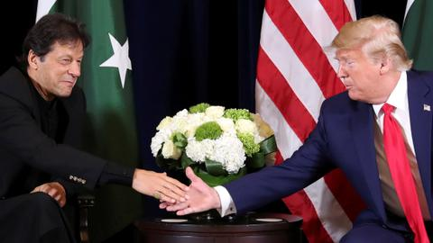 Trump again offers to mediate India-Pakistan talks over Kashmir