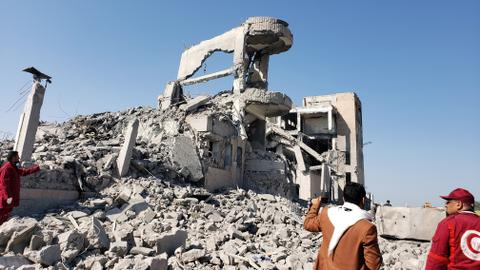 Yemen air strikes kill at least 16 people – local officials