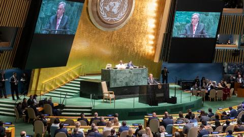 The UN meets amid mounting global challenges