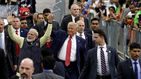 Modi gets a blank cheque from America