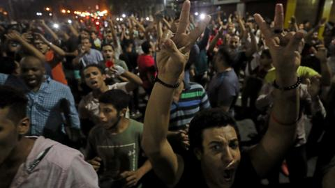 Egypt detains more than 1,100 after anti-Sisi protests – rights monitors