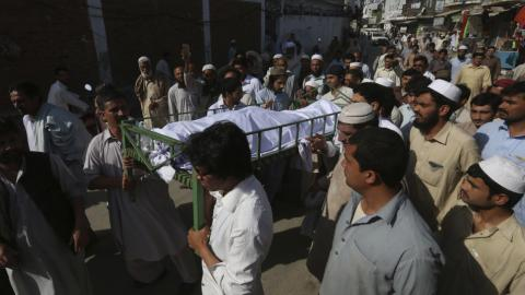 Eight suspects charged with murder of Pakistan university student