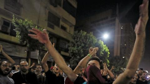 Egypt rights group: Nearly 2,000 detained since protests