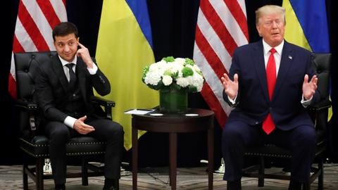 Ukraine 'won't interfere' in Trump impeachment probe - President Zelenskiy