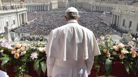 Pope calls for end to