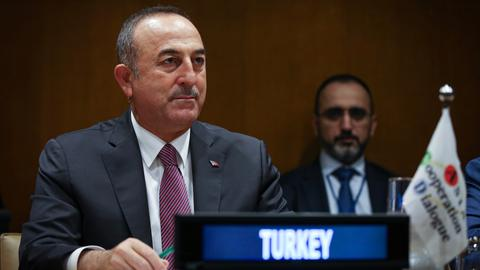 Turkey says not satisfied with progress on Syria