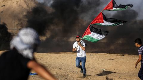 Palestinian killed by Israeli fire in border clashes: Gaza ministry