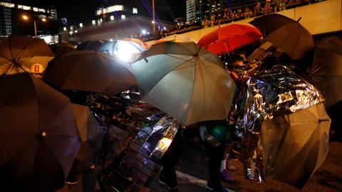 Thousands rally to commemorate 2014 Hong Kong protests