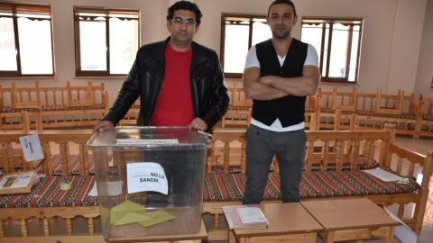 Single voter turns out to cast ballot in Turkish village