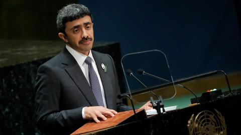 UAE calls on world leaders to take a firm stance with Iran – UNGA 2019
