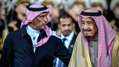 Saudi state media say king's bodyguard shot in 'dispute'