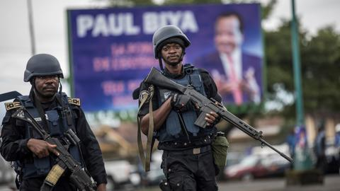 Fear grips Cameroon's anglophone regions ahead of voting day