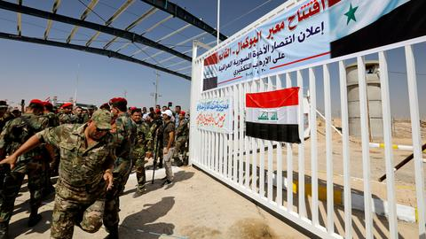 Iraq reopens Syria crossing in win for mutual ally Iran
