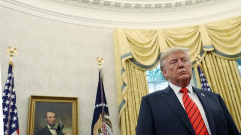Trump attacks Democrats, Giuliani subpoenaed for Ukraine documents