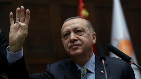 Erdogan greets Jewish community on Rosh Hashanah