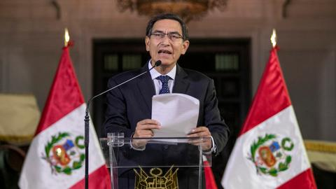 Peru president dissolves congress amid anti-corruption push