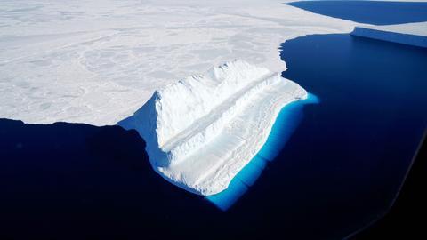 Massive iceberg breaks off Antarctica – but it's normal
