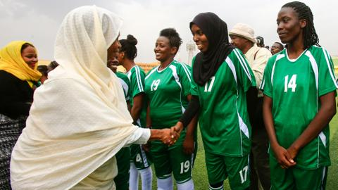 Sudan's first ever women football league kicks off