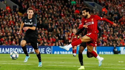 Salah saves Liverpool after incredible Salzburg comeback
