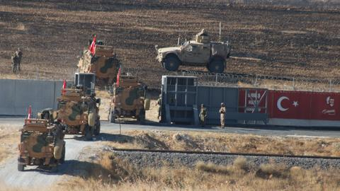 Turkey, US hold third safe zone joint patrols in northern Syria