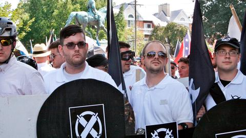US white nationalist groups step up recruitment with racist fliers