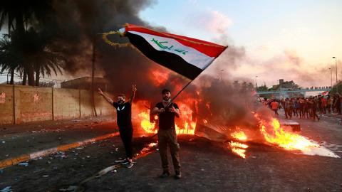 Iraq's failed political process is the main cause of unrest