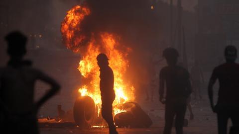Gunmen attack TV offices in Baghdad amid popular unrest