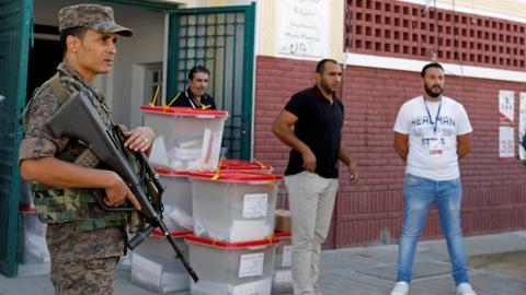 Voting ends in Tunisian parliamentary election