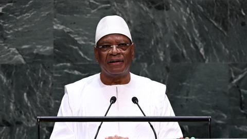 Mali president dismisses coup speculation following attacks