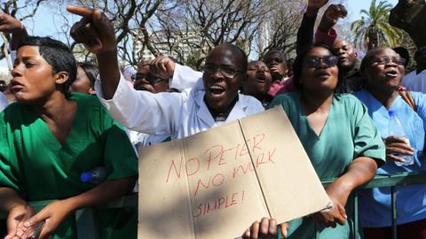 Who is behind the spate of activist abductions in Zimbabwe?