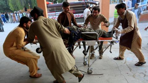 Bomb attack on bus kills 10, wounds 27 in east Afghanistan