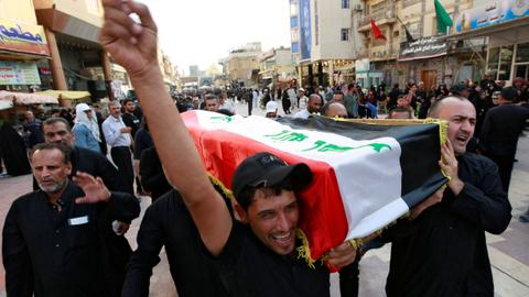 Iraq military admits 'excessive force' used in deadly protests