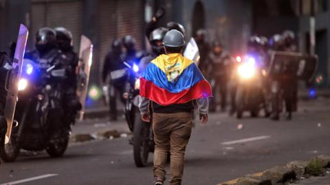 In Ecuador, protesters march as oil output hit