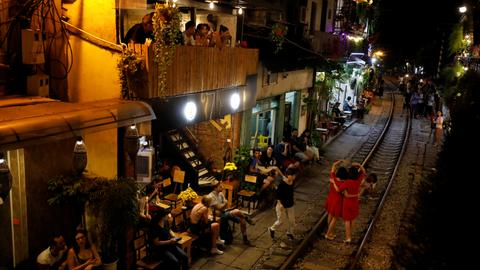 Vietnam's Hanoi closes railway cafes popular with tourists