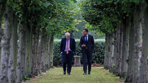 UK, Irish leaders see 'pathway' to elusive Brexit deal