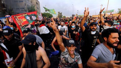 Why are Iraqis angry at Iran?