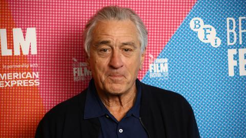De Niro talks Trump and acting technique at London Film Festival