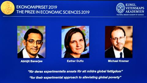 Economists who study poverty win Nobel Prize