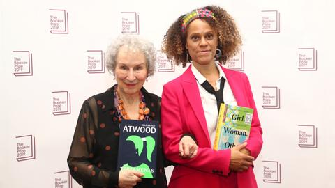 Atwood and Evaristo joint winners of Booker Prize